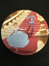 Knowles Disney Cinderella Decor. Plate 1574A 'At The Strike Of Midnight' 1990