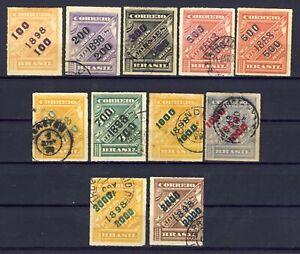 Brasilien/Brazil-Klassik  -  Zeitungsmarken 1898/99