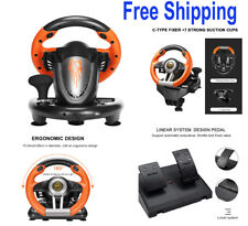 Steering Wheel Pedal Set Racing Gaming Simulator Driving PS3,PS4,PC,XBOX  Switch