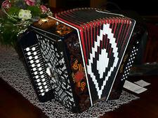 Garmoschka  Knopfakkordeon Ziehharmonika Akkordeon, ???????. S5XL  mit Register.