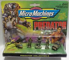 Predator: camo Huey, Dillon, Predator, billy & 4x4 véhicule. MICROMACHINES Set 2