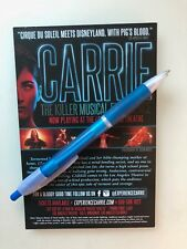 Carrie The Musical Los Angeles Promotional Card