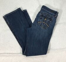 KUT from the Kloth NATALIE Boot Cut Women's Jeans Size 8 Distressed Wash