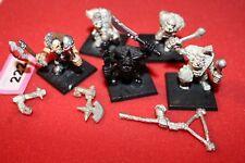 Juegos taller Warhammer Fantasy golfags mercenario ogros metal perros de guerra del ejército