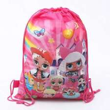 LOL SURPRISE DRAWSTRING LIBRARY SCHOOL SWIMMING KINDER BOOK BAG BIRTHDAY