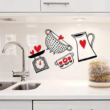 01186 wall stickers sticker adesivi murali decorativi cucina in allegria 61x41cm