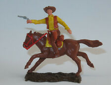 TIMPO TOYS  seltener Cowboy Farbvariante  seltenes Pferd