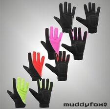 Mens Ladies Muddyfox Sports Breathable Mesh Panels Bike Cycling Gloves