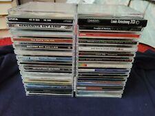 CD Storage Box Rack Holder Stacking Tray Disk Organizer Acrylic Plastic Holds 30