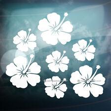 28x Beautiful Hibiscus Flowers for Bike,Car,Mirror,Wall,Laptop Vinyl Stickers