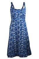 RRP £49.99 Ex Mistral Canoes & Kayaks Blue Strappy Summer Sun Dress Size 8