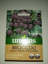 Unwins Broccoli Early Sprouting Purple Vegetable Seeds x 300 Exp 9/2023
