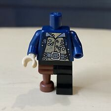 Lego Davy Jones Torso Pirates Of The Caribbean Black Pearl Set 4184 Disney