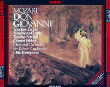 MOZART: DON GIOVANNI (1955) - OTTO KLEMPERER / 3 CD-SET - TOP-ZUSTAND