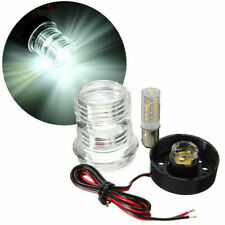 Waterproof Marine Boat Yacht Navigation Anchor Light All Round 360° White LED