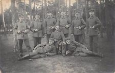 Foto AK Soldaten Gruppenfoto II. Komp. Res. Infanterie Regiment 104./2. Feldpost