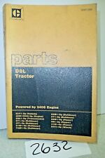 CATERPILLAR D8L TRACTOR PARTS BOOK  WITH 3408 ENGINE FOR SERIAL 53Y1-UP