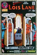 "Superman's Girlfriend Lois Lane #106 - 6.0 - 6.5  ""I Am Curious (Black)"""