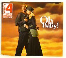 Maxi CD - Twenty 4 Seven - Oh Baby! - A4321
