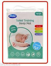 ❤ Cotton Jersey PLAYGRO Sleep Toilet Training Mat WATERPROOF MATTRESS PROTECTOR