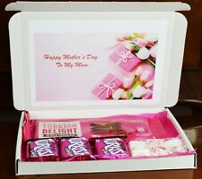 Personalised Mothers Day Turkish Delight Sweet Hamper for Mum Nan Grandma