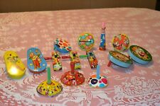 14 vintage New Years Eve Noise Makers ~ Kirehhof life of party Us metal Toy