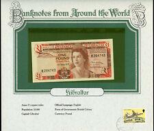 Gibraltar 1 Pound 1979 P 20b UNC Prefix K UNC - Banknotes from Around the World