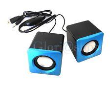 MINI CASSE PC ALTOPARLANTI AUDIO SPEAKER MINICASSA NOTEBOOK USB 3D JACK 3,5MM