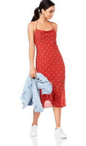 Finders Keepers - Sorrento Dress Red Check NWT (XL/14-16 ) great colours
