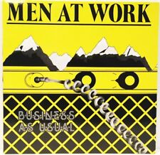 MEN AT WORK DEBUT 1982 BUSINESS AS USUAL 33 VINYL LP RECORD EXCELLENT