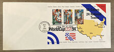 FDC FIRST DAY COVER WORLD CUP USA 94