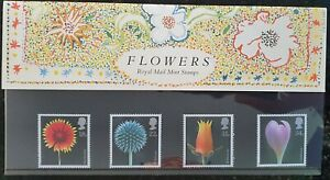 Flowers Royal Mail Mint Stamps Presentation Pack No.178