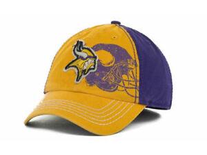 Minnesota Vikings 47 Brand Webster NFL E-Z Fit Football Cap Hat Large