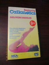 Beginning Callanetics   VHS Video Tape