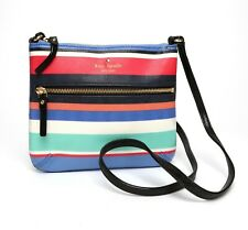 Kate Spade Womens Multistripe Cedar Street Stripe Crossbody 7623