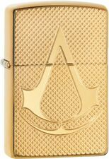 Zippo Armor Lighter With Deep Carved Assassins Creed Logo, 29519. New In Box