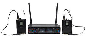 Vocopro Digital-2G 90 Channel UHF Dual Wireless Guitar Amp System/Rechargeable