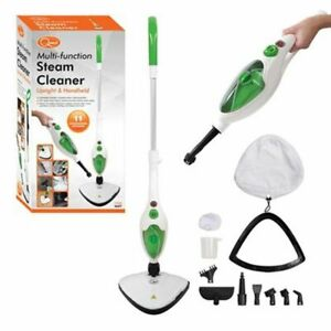 Quest 1500W 11-in-1 Hot Steam Cleaner Mop Handheld Upright Floor Carpet Washer