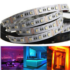 24V 5m 5050 SMD RGBWW (RGB+Warmweiß) 4 in 1 LED Streifen LED Strip Lichtleiste