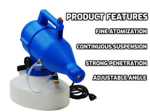 Cold ULV Fogger Machine Electric Disinfectant Sanitizer Sprayer [US STOCK]