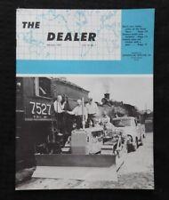 "1957 CATERPILLAR ""THE DEALER"" MAGAZINE CANADIAN NATIONAL RR GREAT FALLS MT D9 D8"