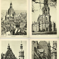 Dresden 1920s Photo Book w/96 gravure photos Lady's Church Zwinger Saxony Elbe