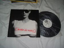 HARD AS NAILS Cheap As Dirt LP RARE US Glam ORIGINAL press NMint