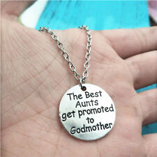 godmother silver Necklace alloy pendants ornament ,creative jewelry accessory