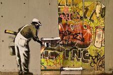 Banksy - Another look. Ed. 300 uds Firma Impresa. Num. a lapiz. Certif. Edicion