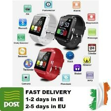 SMART WATCH Bluetooth Remote Camera Calculator for Android Smartphone RED COLOUR