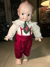1967 Cameo Kewpie Doll By Jessco With Original Christmas Clothes