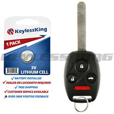 Replacement for 2003 2004 2005 2006 2007 Honda Accord Remote Key Fob OUCG8D380HA