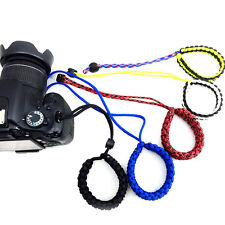Durable Adjustable Camera Wrist Lanyard Strap Grip Weave Cord for Paracord DSLR