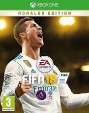 FIFA 18 Ronaldo Edition Xbox One New and Sealed